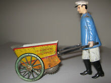 tap tap tin toy wind up germany