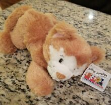 russ berrie nwt calie cat brown white face
