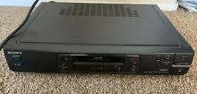sony ev a60 video 8mm vcr deck works great