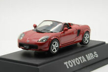 s gauge toyota mr s scale 1 43 by ebbro