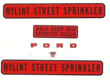 nylint replacement water slide decal set