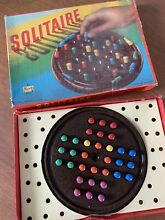 spears game s solitaire board game 1970s