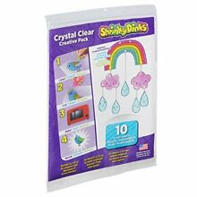 shrinky dinks creative pack 10 sheets crystal