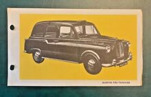 triang spot on spot on no 155 austin fx4 taxicab