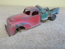 hubley 1940 toy cement truck parts display