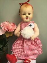 raynal rare french celluloid doll bebe