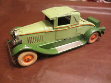 1930 12 5 l kingsbury toys coupe wind up