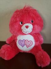 care bears always there bear 13 red fluffy