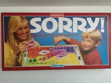 sorry game sorry board game 1994 complete 405