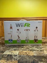 wii fit balance board game disc new in box
