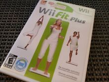 wii fit plus nintendo wii 2009 complete