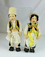 lenci two italy mascotte dolls in ethnic
