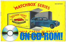 1960 s matchbox lesney toy catalogues on