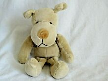 russ berrie rare homer dog soft toy mbna 8