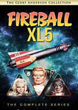fireball xl5 complete complete series 5pc dvd