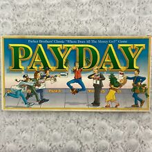 pay day game parker brothers 1994 pay day board
