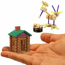 lincoln logs worlds smallest building toys set 2