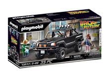 playmobil back to future marty s pick up