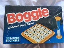 go for it parker boggle by parker brothers 3 minute