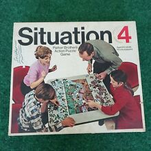 jigsaw puzzle 1968 parker brothers action game