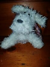 russ berrie curly toy puppy dog 6inches