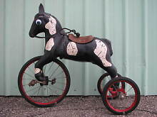 gendron horse tricycle pedal car tractor