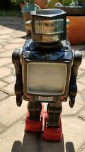 tin toy radar robot japan by