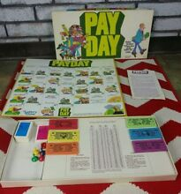 1975 pay day board game by parker