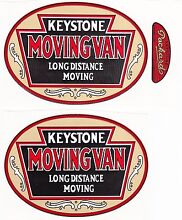 keystone moving van decal set 4 3 4 w x 3 3