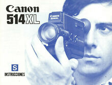 Xl Super 8 Movie Camera Instruction
