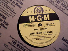 johnny seven oma mgm 78 record 30319 fred astaire