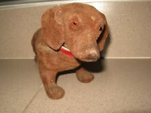 antique dollhouse old kids toy 1920 1930s dog
