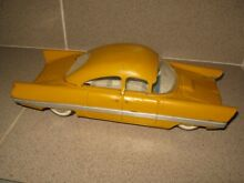 antique dollhouse old tin toy vehicle car 1960s