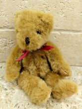 russ berrie chadsworth co small teddy bear red