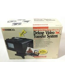 New Ambico Deluxe System Vhs 8mm