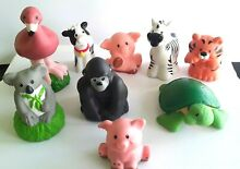 fisher price lot 9 little people animals