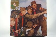norman rockwell puzzle norman rockwell boy scouts america
