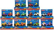 little people fisher price wheelies 2 pack cars