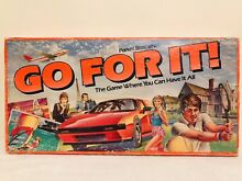 go for it parker 80s go for it board game where you