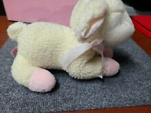 russ berrie baby musical wind up lullaby lamb