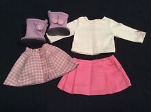 american girl doll genuine clothes cozy plaid outfit