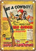 daisy air rifle s red ryder comic book ad 10 x 7