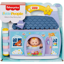 little people fisher price babies story set gmk20