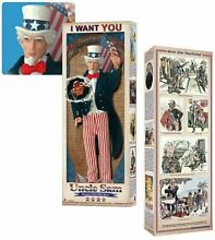 uncle sam 12 inch figure mint in box by