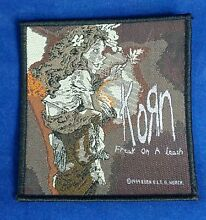 tether car korn 1999 official woven embroidery