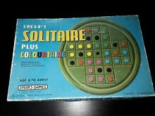 spears game 1970 s full set solitaire plus