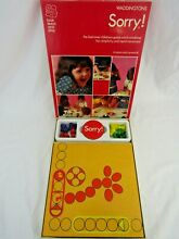 sorry game sorry family board game 1970s