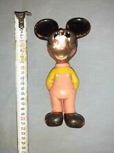 antique dollhouse old walt disney mickey mouse rubber