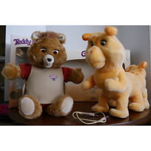 teddy ruxpin grubby 1985 wow clothes storybooks
