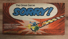 sorry game sorry board game waddingtons 1963
